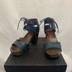 Marc by Marc Jacobs Wooden Heels